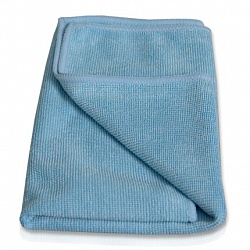 Cleaning cloth blue