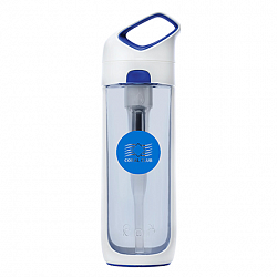 Coral Bottle Nava 700 water bottle, white-blue