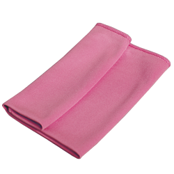 Glass cleaning cloth pink